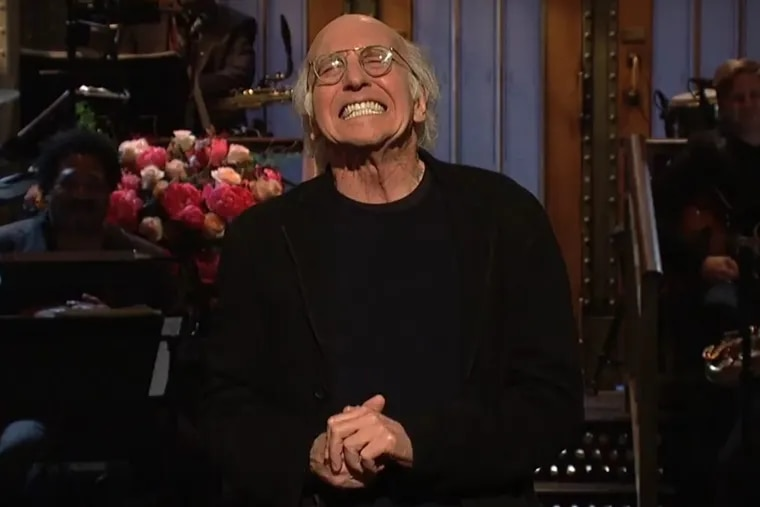 """Larry David delivers a controversial joke about the Holocaust during his opening monologue on """"Saturday Night Live."""""""