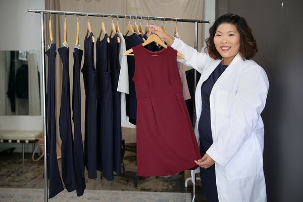 How an accident led to a Philly start-up's 'simple and classy' clothing line for women in labs
