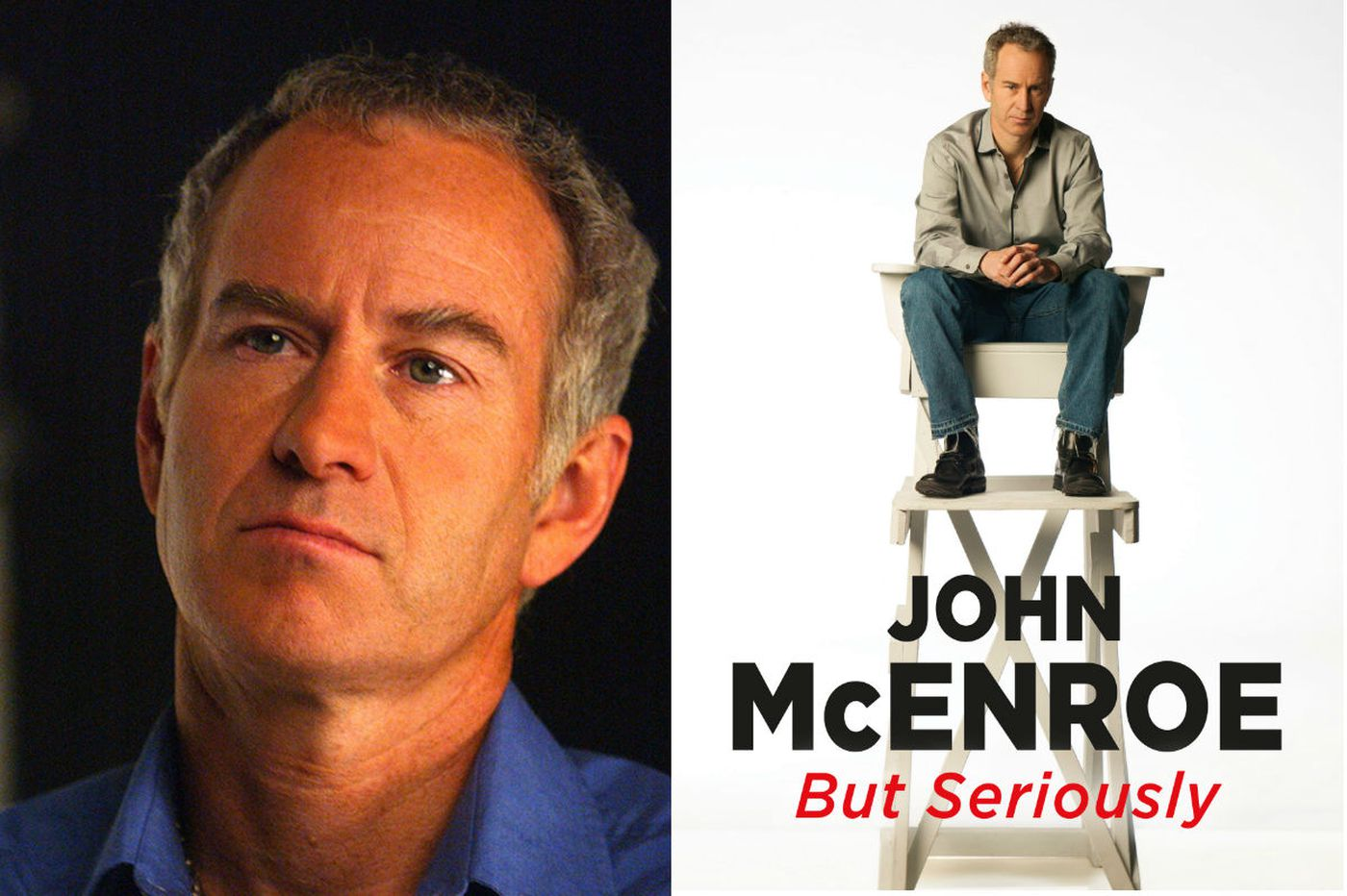 No apologies from John McEnroe in 'But Seriously'