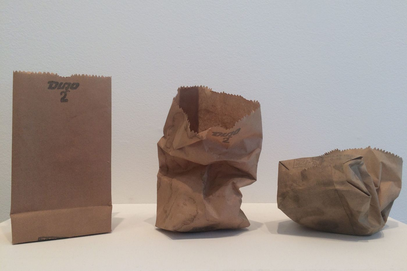In Philly galleries now: Bergstrom bags, a subtle modern master, Fleisher/Ollman's 'Party'
