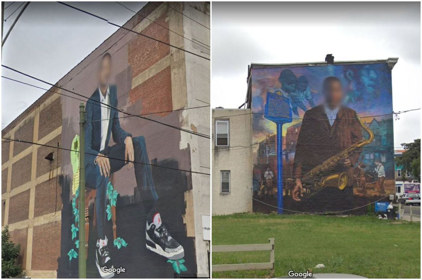 Google Street View is blurring faces in Philly's murals
