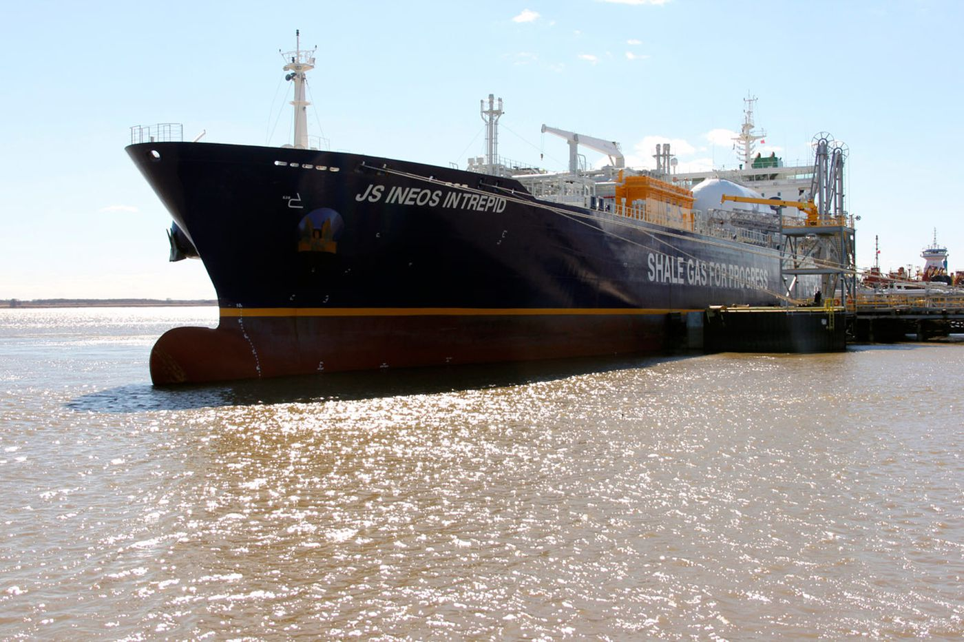 Sunoco begins first exports of Marcellus Shale ethane via Marcus Hook terminal