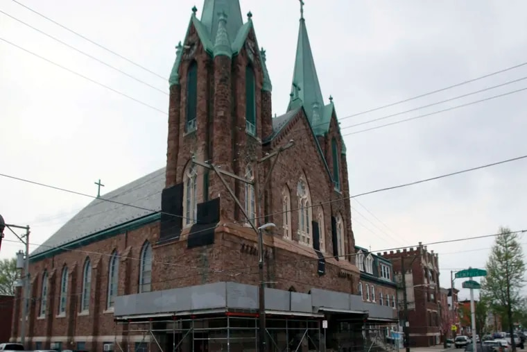 St. Laurentius Church, located in Fishtown, has been the subject of debate among residents for years.