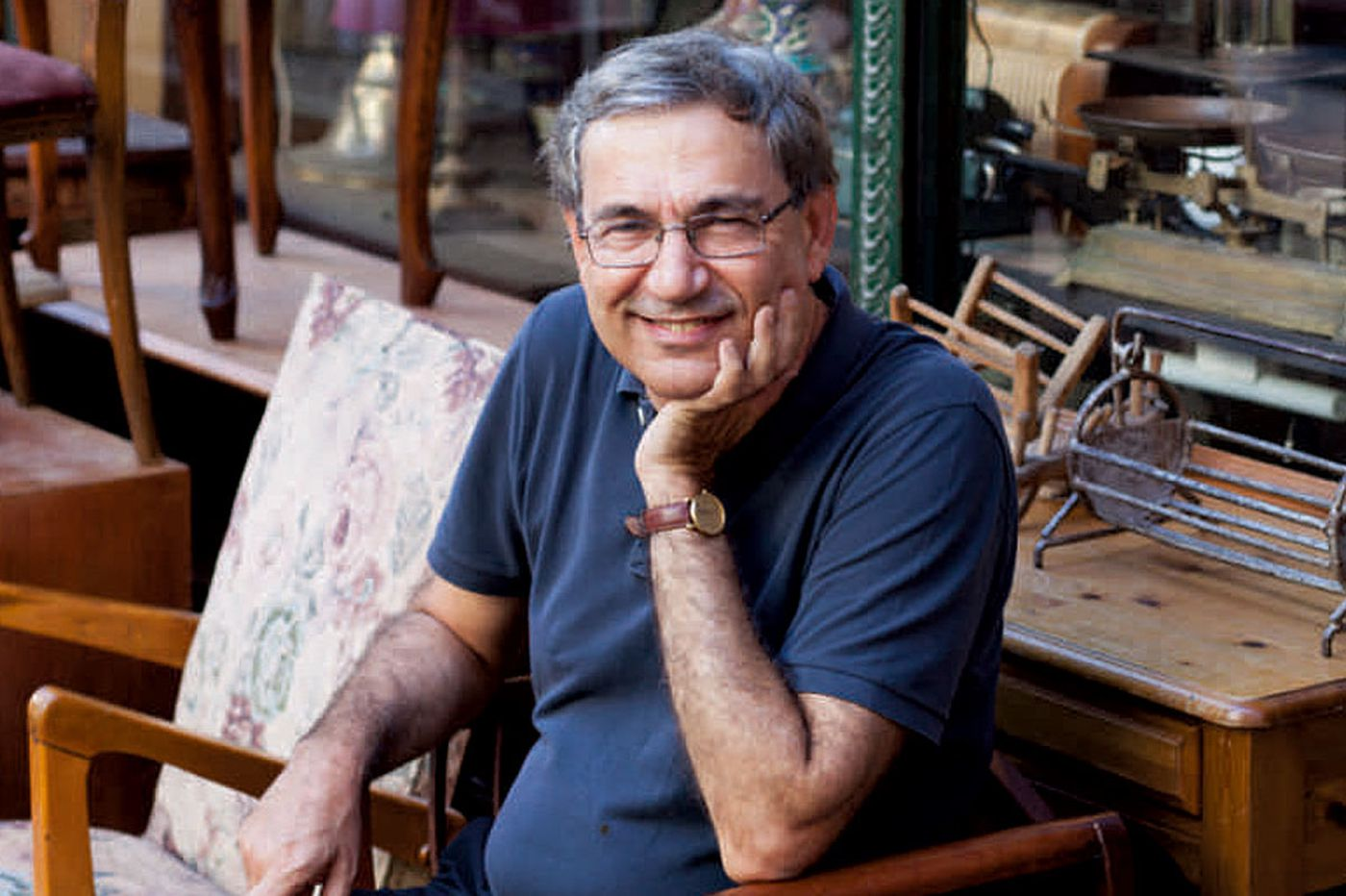 Nobel-winner Orhan Pamuk talks about love and the city