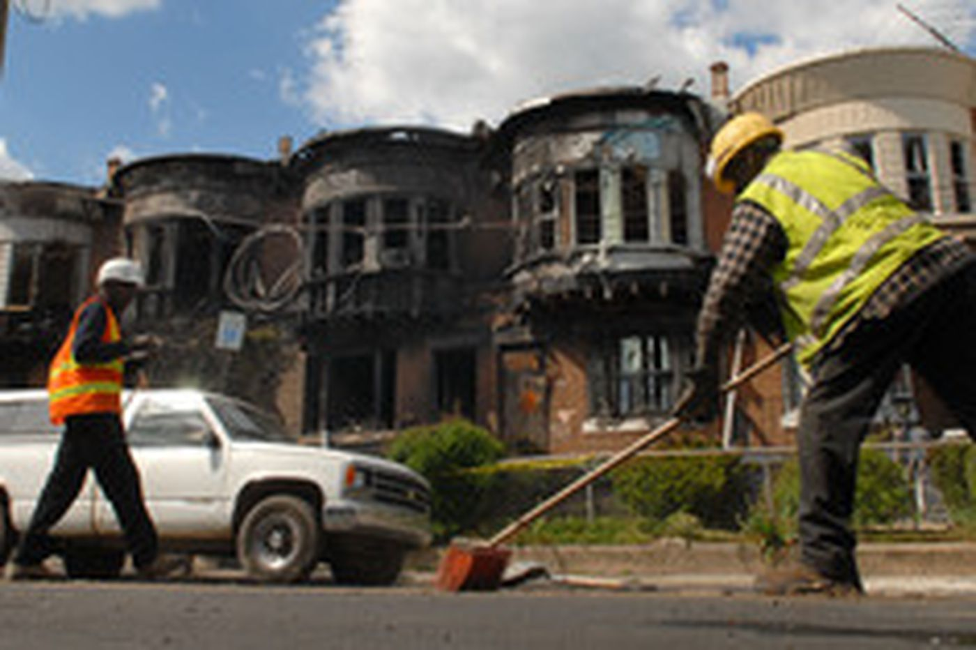 W. Phila. fire is ruled arson