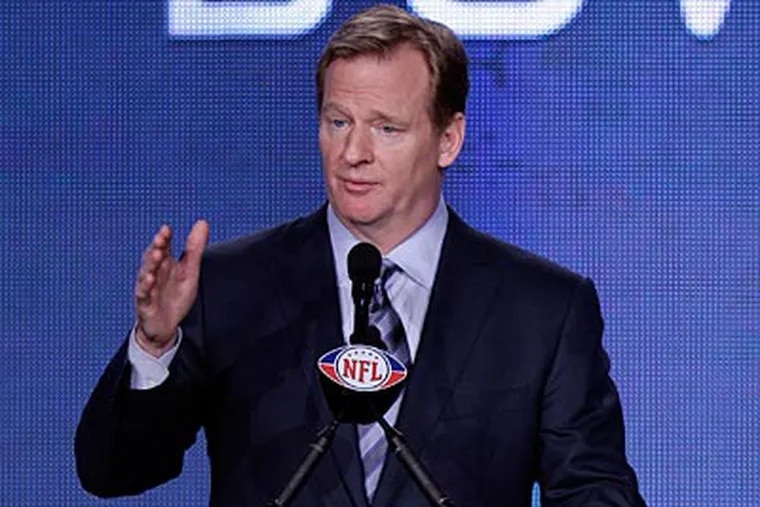 Roger Goodell dismissed suggestions that his punishment of the Saints was overly harsh. (David J. Phillip/AP file photo)