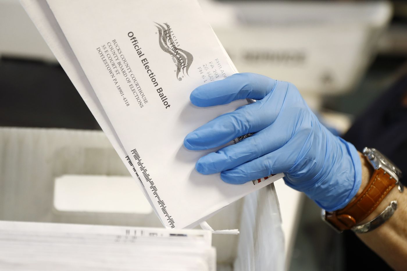 Bucks County just went to court to extend Pennsylvania's mail ballot deadline