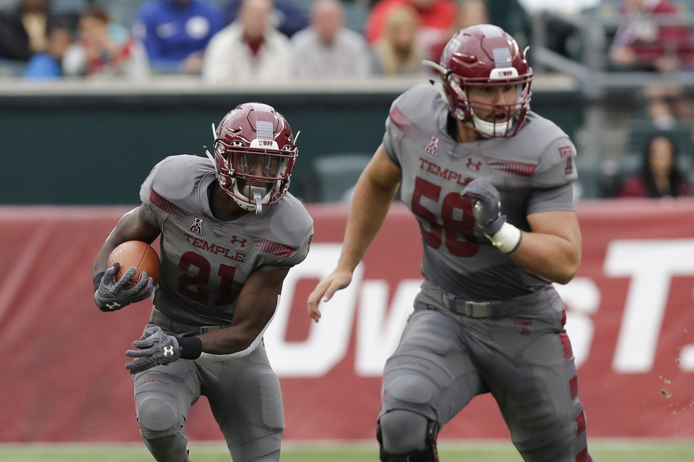 Temple center Matt Hennessy works equally hard at football and academics. The NFL is next.
