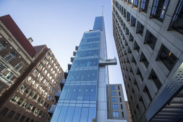 Finally completed, 500 Walnut is the latest ultra-luxury building to join Philly's skyline