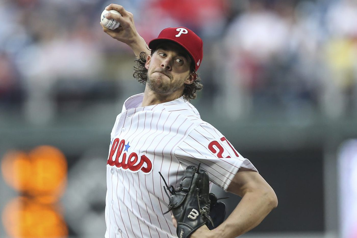 Aaron Nola dominates Giants with 12 strikeouts, showcases his change-up in Phillies win