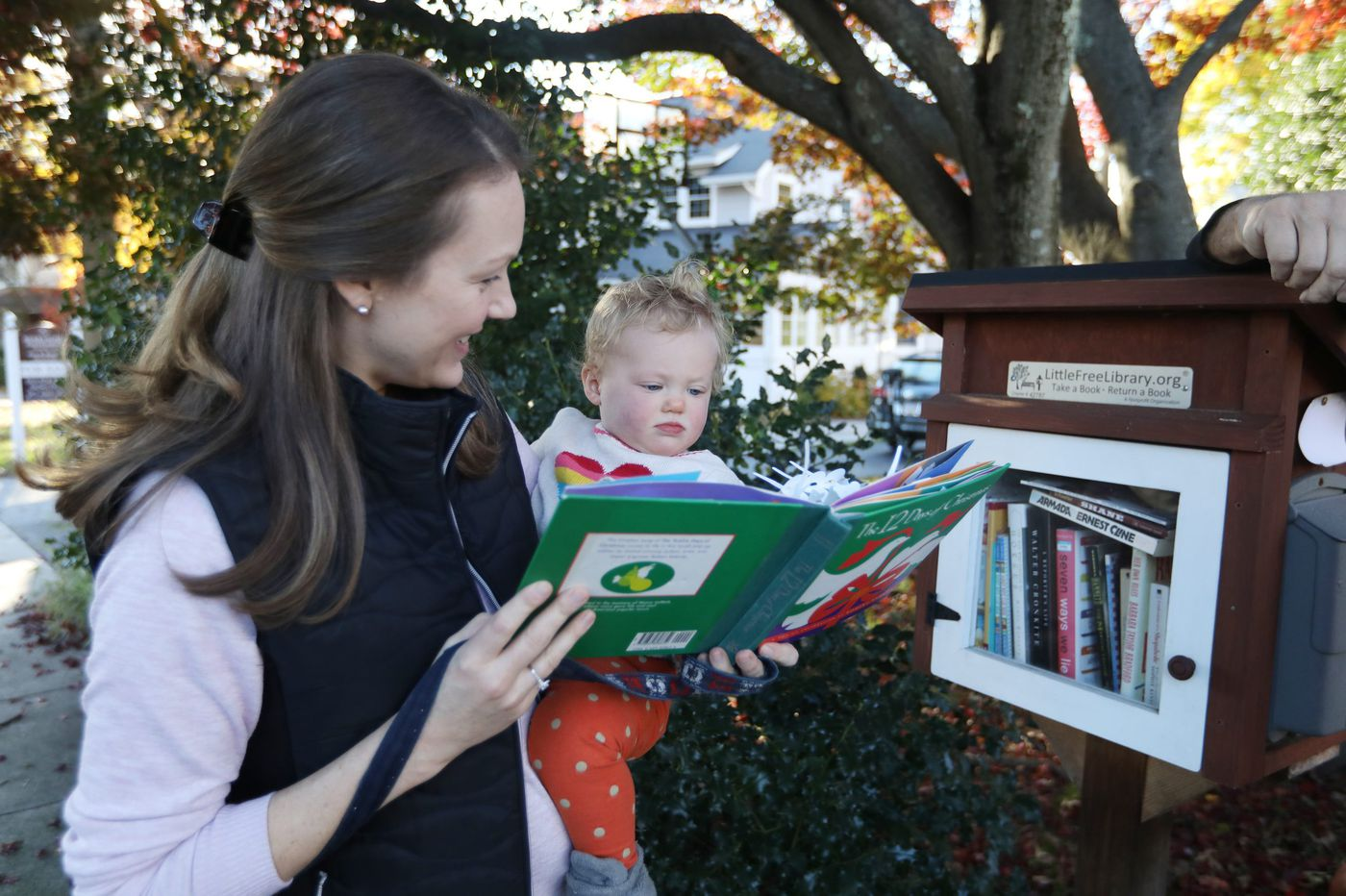 Take a book, leave a book. Little Free Libraries are popping up around Philly.