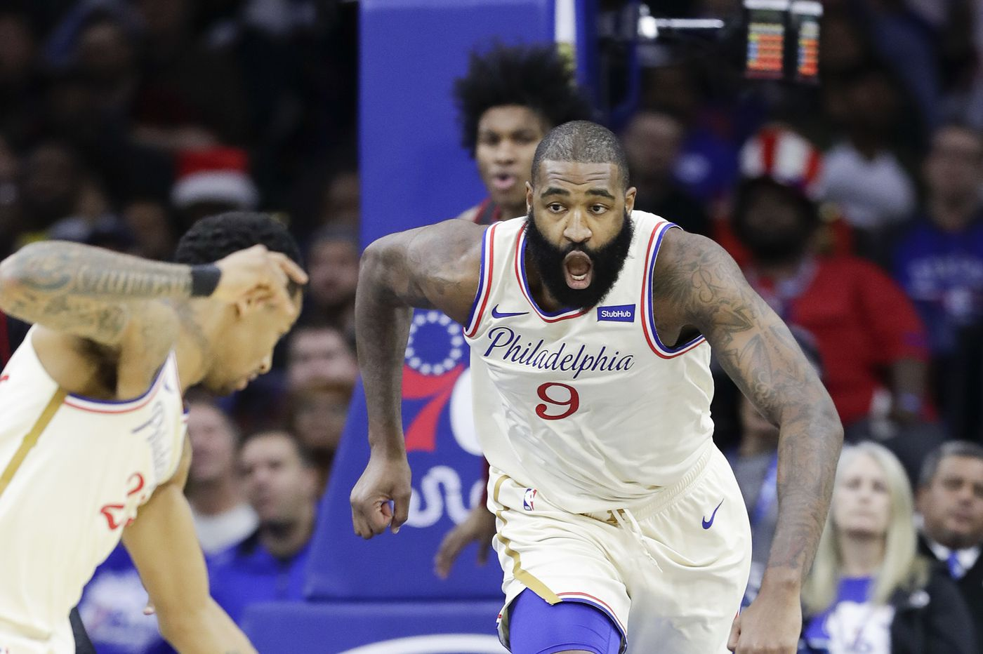 Sixers' Kyle O'Quinn says he didn't know Instagram post he liked was from Trey Burke's father