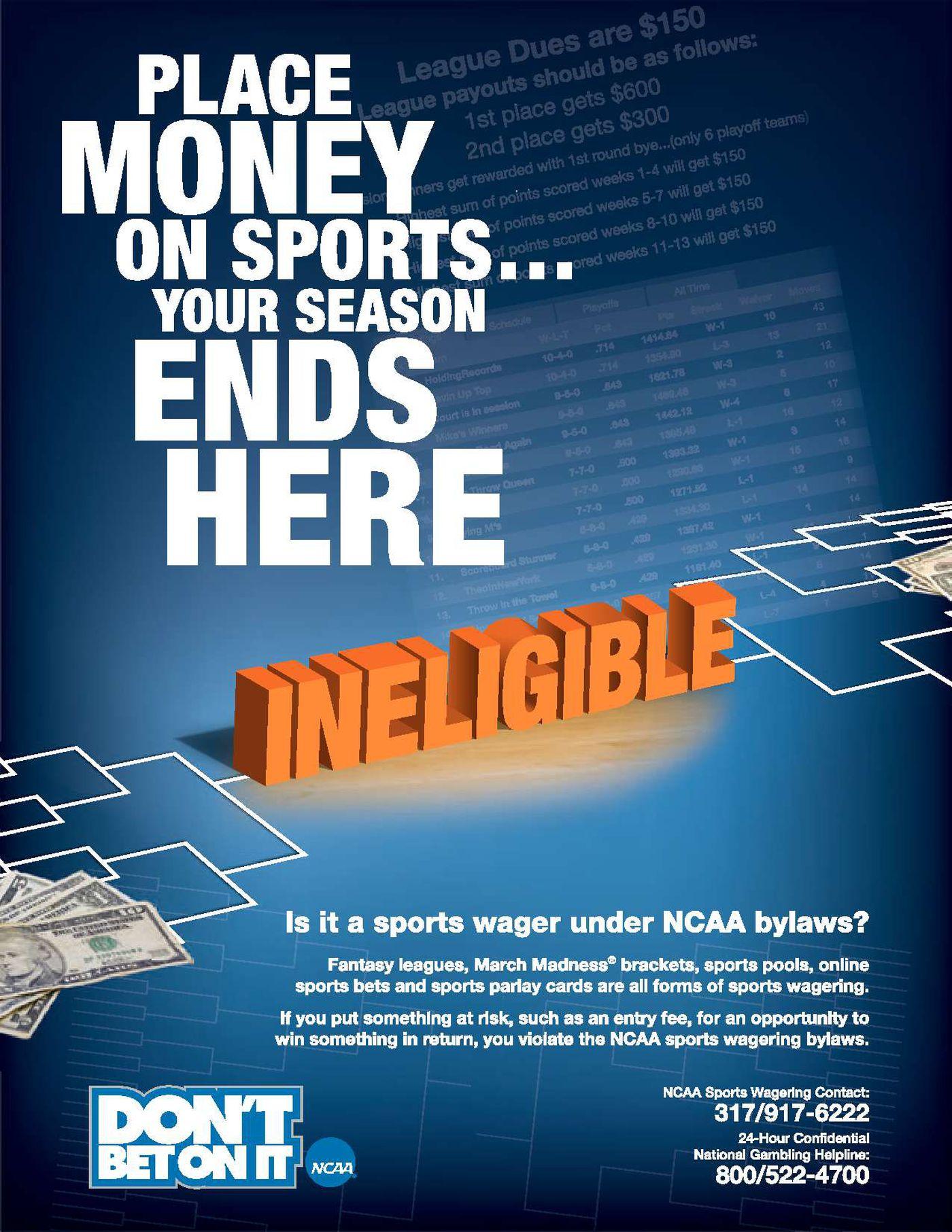 Ncaa sports betting khel cricket betting software free