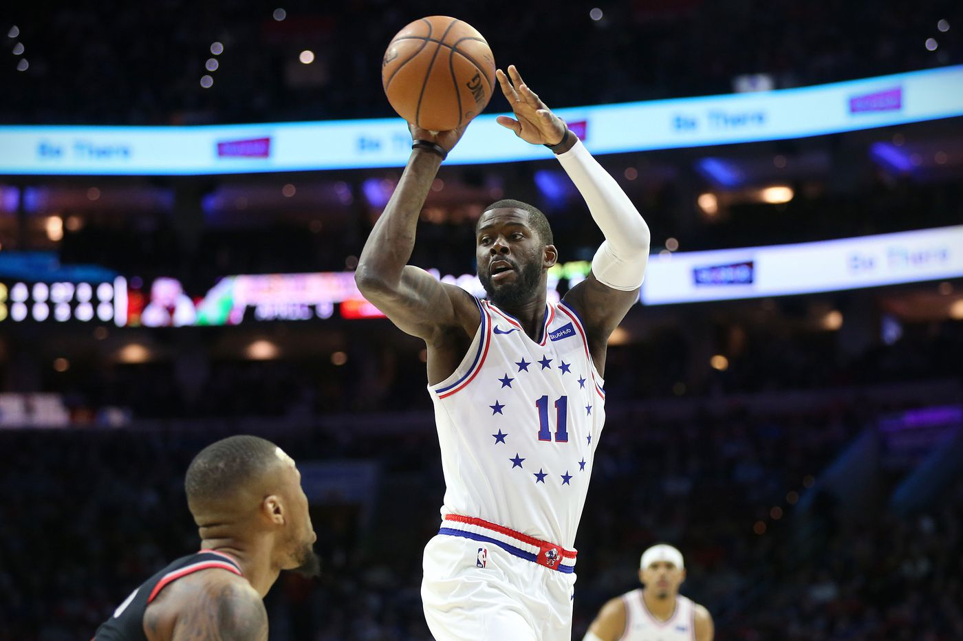 Sixers playoff notes: James Ennis returns for Game 2