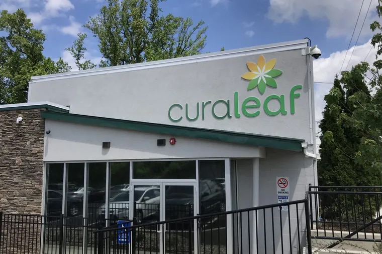 Curaleaf New Jersey dispensary in Bellmawr, N.J.