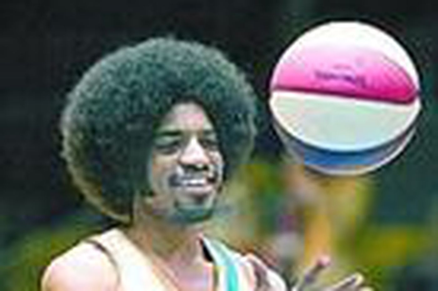 The ball is funnier (& cleaner) in 'Semi-Pro'