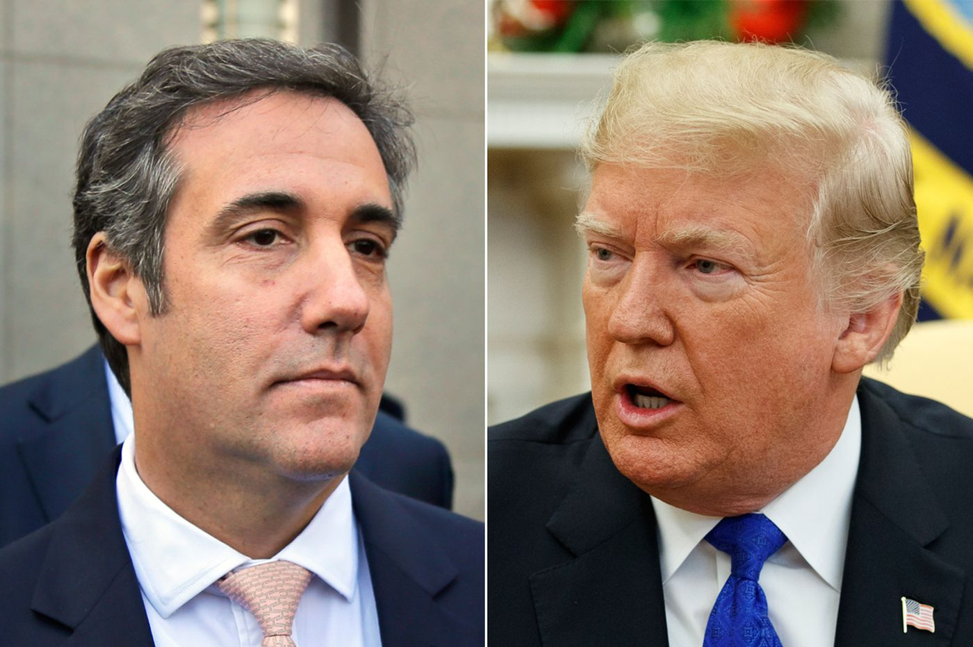 Ex-Trump lawyer Michael Cohen gets 3 years in prison, National Enquirer admits payment was to influence election