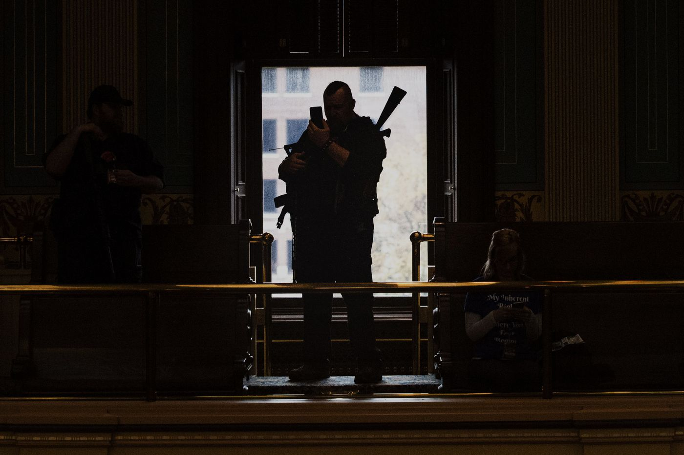Michigan militia's march on state house puts armed protest in the spotlight