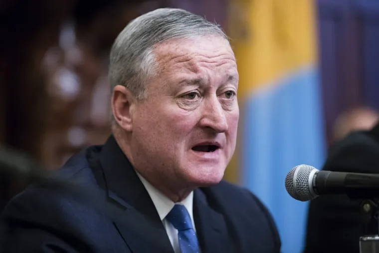 """Mayor Kenney said  the city remains """"confident that the law will withstand this challenge."""""""