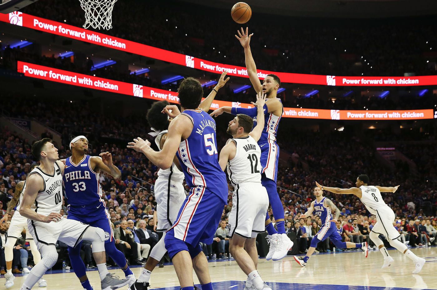 Sixers use dominating third quarter to defeat Nets, tie series
