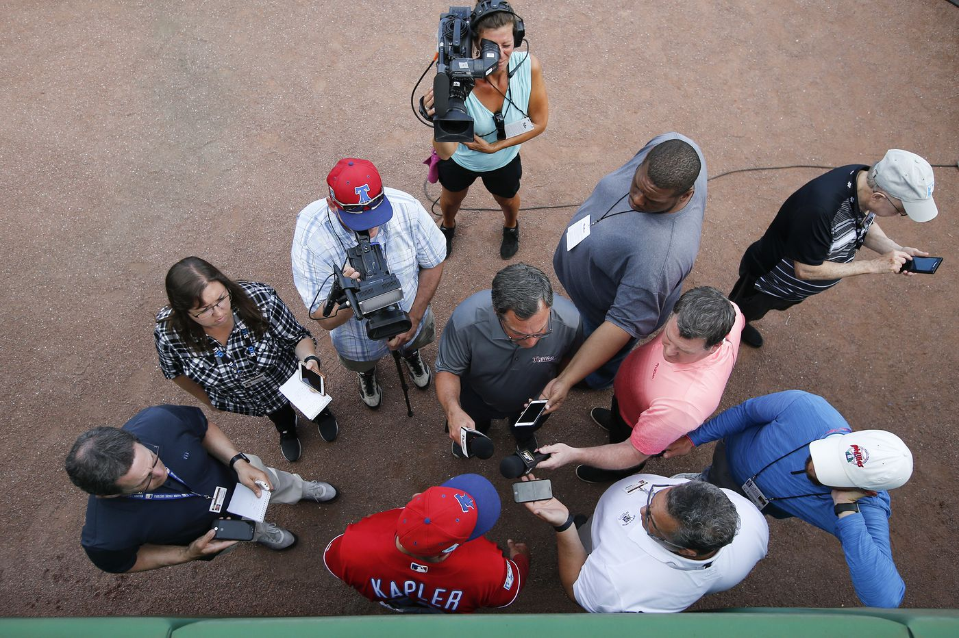 Gabe Kapler aims to be more critical of the Phillies after his supper with Andy MacPhail | Marcus Hayes