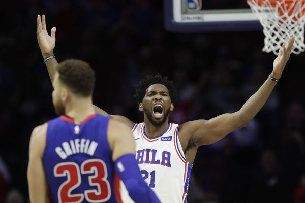 Joel Embiid scores 39 for Sixers in 109-99 win over Detroit