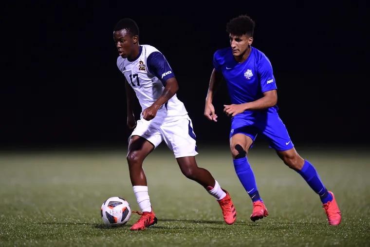 The soccer dream for La Salle sophomore Junior Nare (left) started in Johannesburg, South Africa.