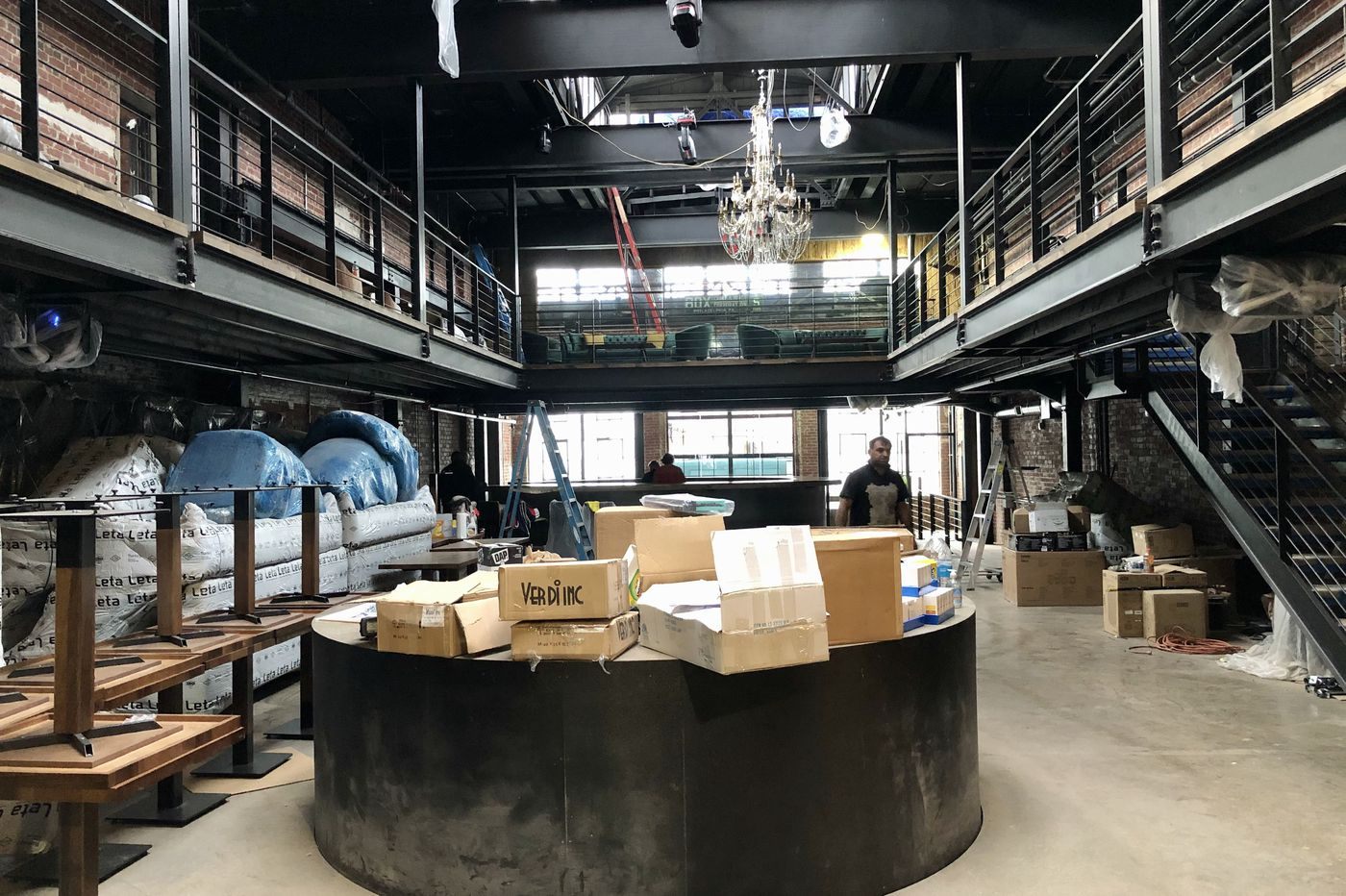 Early look at Fabrika, a 'modern cabaret' coming to Fishtown with food from Kanella's Konstantinos Pitsillides