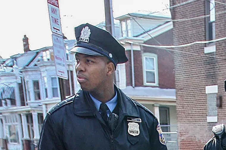 Philadelphia Police Officer Cyrus Mann