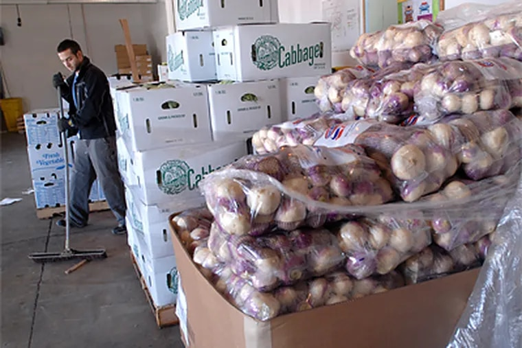 Philabundance feeds about 65,000 people a week, through 600 agencies on both sides of the Delaware River. (April Saul/Inquirer file photo)