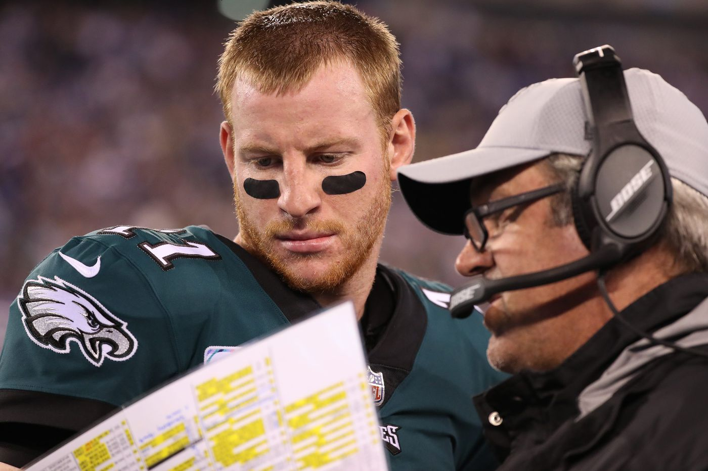 The X's and O's behind Carson Wentz's 'healthy' involvement (or otherwise) in the Eagles' offense | Jeff McLane