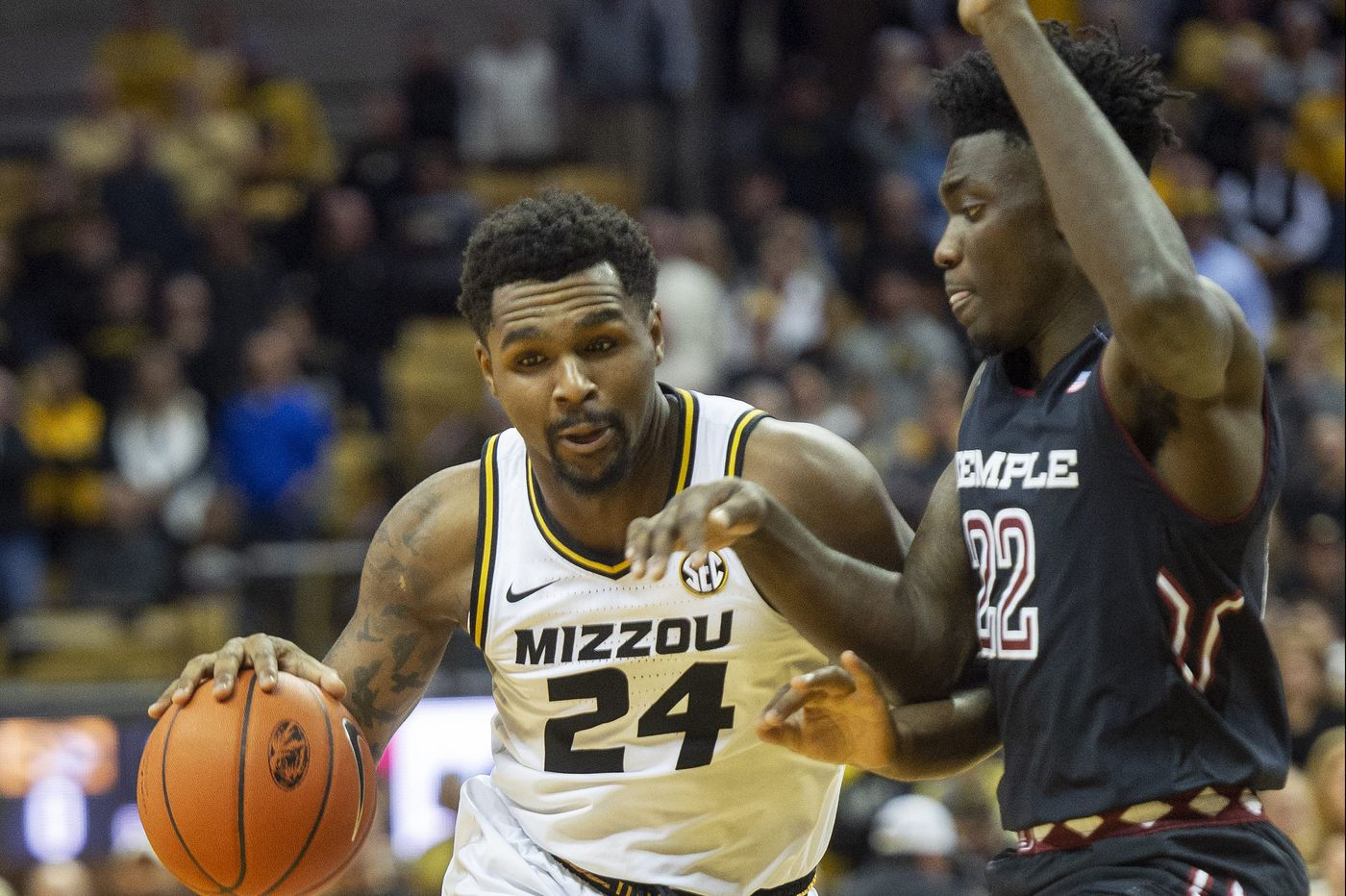 Temple forward Dre Perry looking to build on his strong showing against Missouri