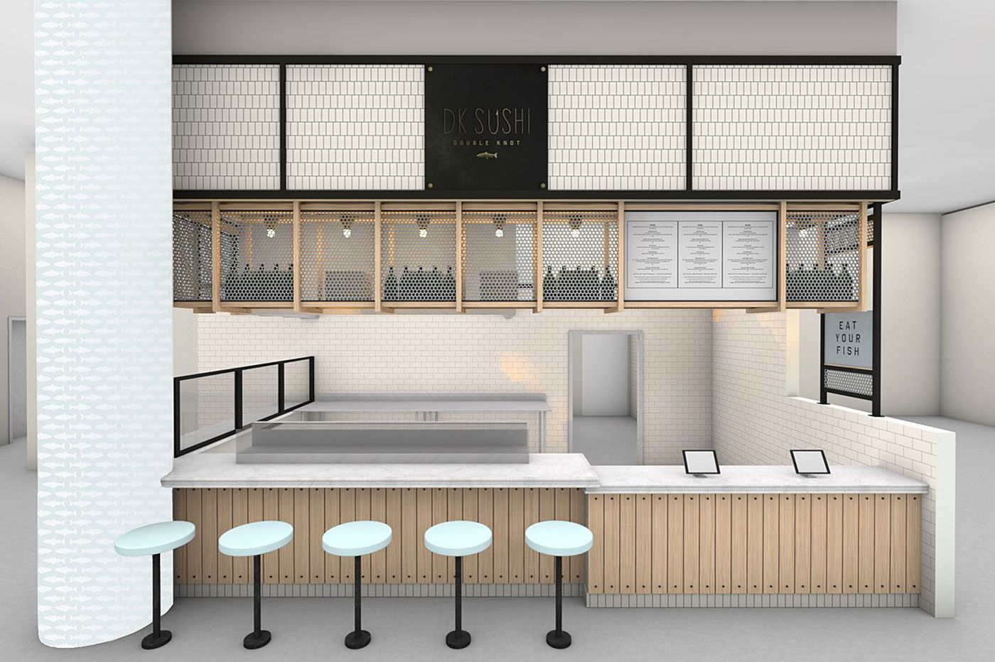 Double Knot and High Street on Market join Penn Food Hall