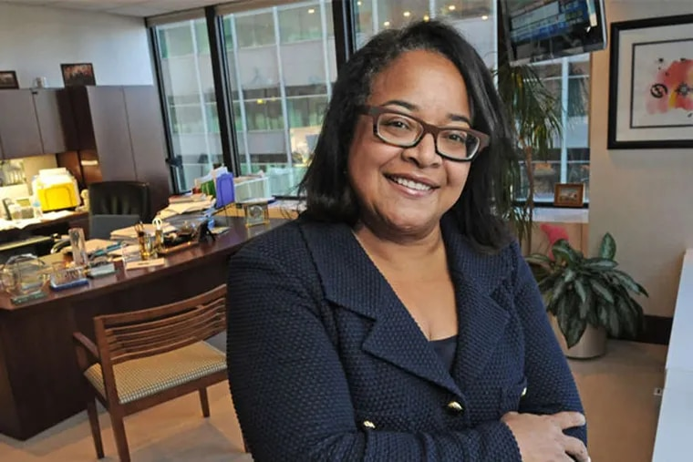 Teresa Bryce Bazemore, president of the mortgage insurer Radian Guaranty since 2008. (April Saul / Staff Photographer)