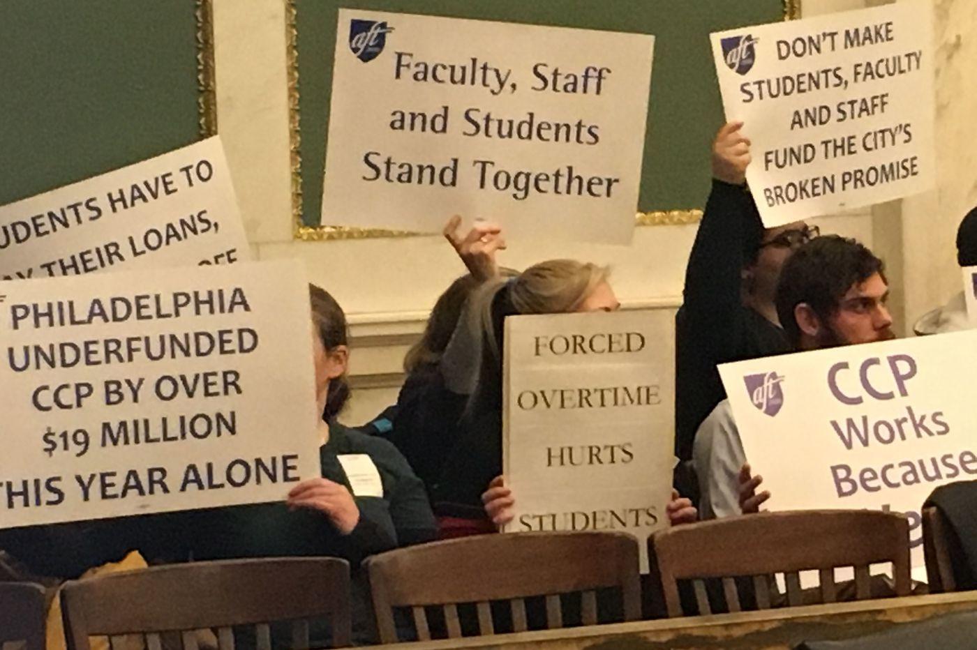 Is Philadelphia properly funding its community college?