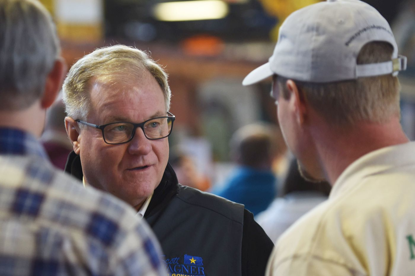 Scott Wagner's running a campaign like Trump's, but at least he's running a campaign