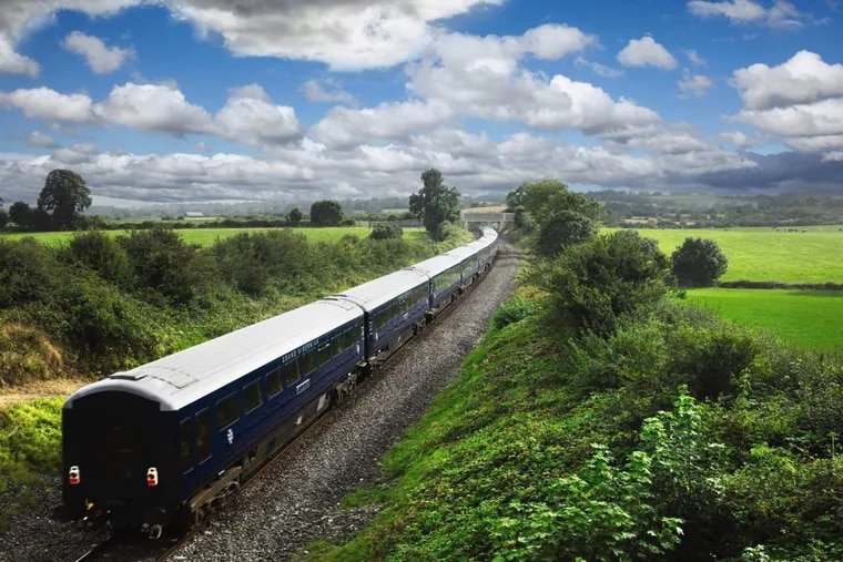 The Belmond Grand Hibernian is Ireland's first luxury train.