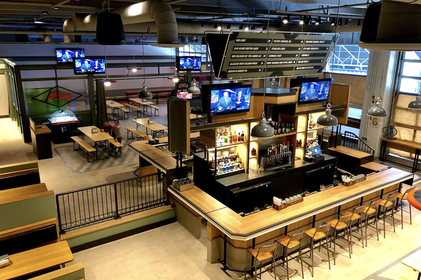 The Post: A beer hall and fun house for University City