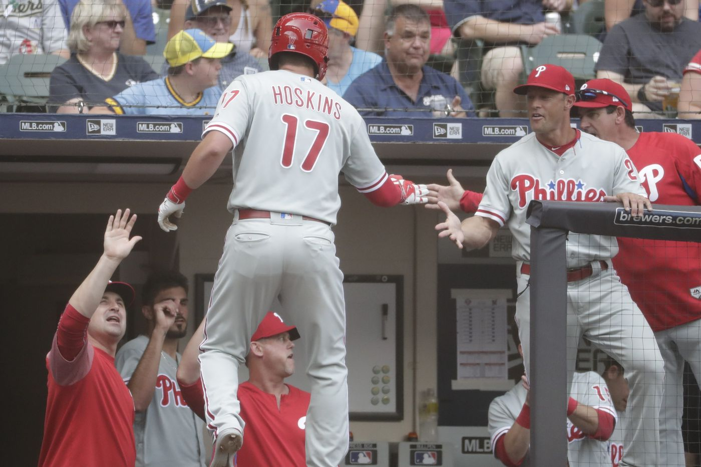 Phillies beat Brewers as Gabe Kapler's gamble to pinch-hit Maikel Franco, pull Zach Eflin pays off