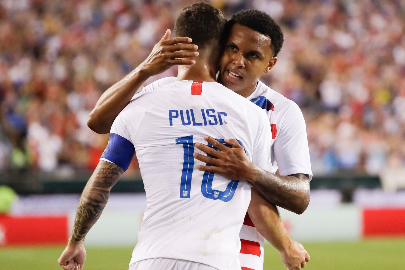 Hershey's Christian Pulisic intrigued by possibility of playing in Olympics for U.S. soccer team