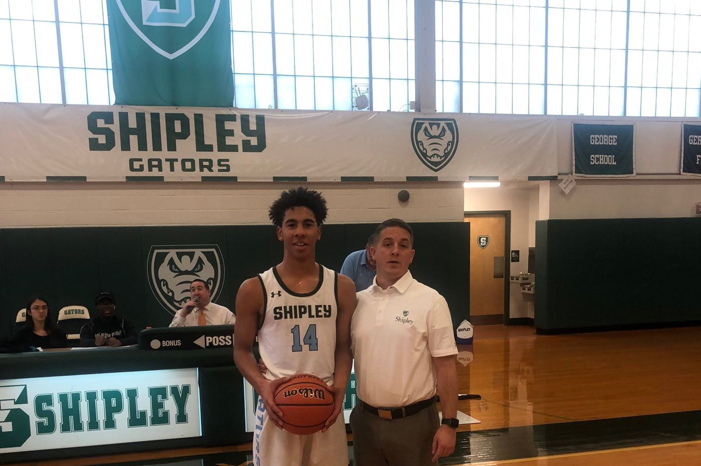 Monday's Southeastern Pa. roundup: Khai Champion scores 1,000th career point in Shipley's win over Palumbo