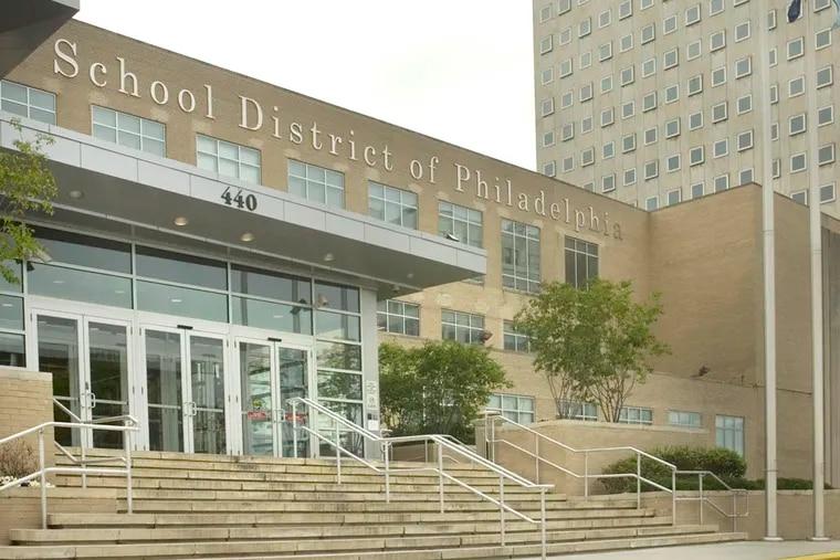 The School District of Philadelphia headquarters at 440 North Broad Street.