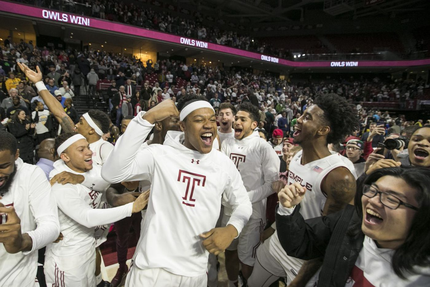 Temple earns upset victory over 16th-ranked Wichita State