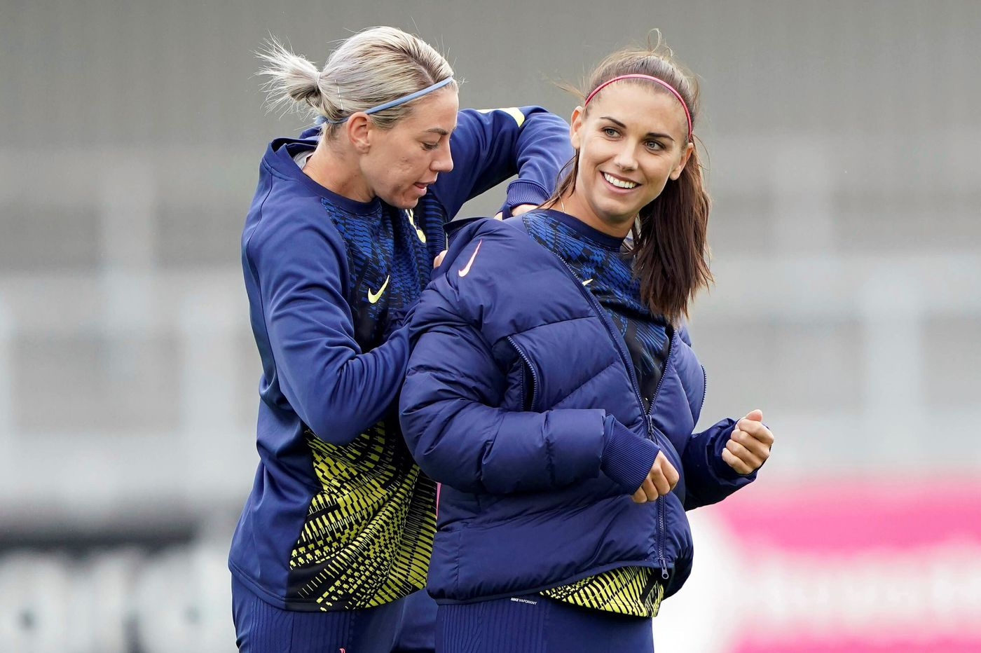 Why Alex Morgan joined Tottenham Hotspur at almost the last minute she could