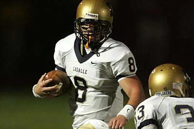 La Salle QB Drew Loughery expected to receive a fair amount of recruiting interest in the months leading up to his final high school season. But he did not. (David Swanson / Staff Photographer)