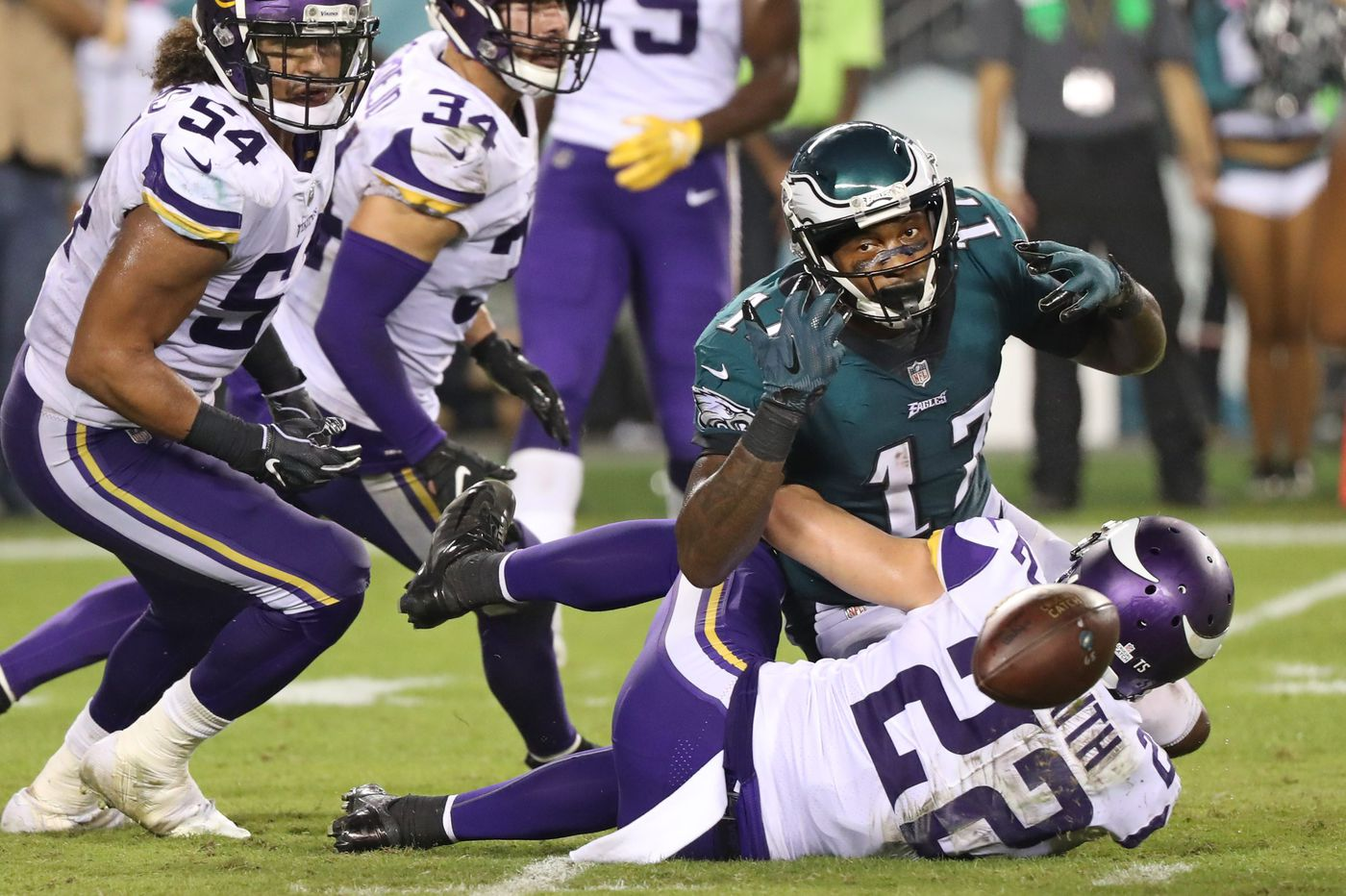 After loss to Vikings, Eagles' Super Bowl hangover gets worse | Marcus Hayes