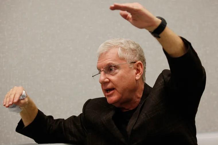 Bob Guzzardi, a challenger to Governor Corbett in the GOP primary. (MICHAEL S. WIRTZ/Staff Photographer)