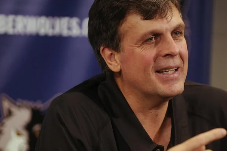 Kevin McHale has relinquished his vice president title to become Timberwolves' full-time coach.
