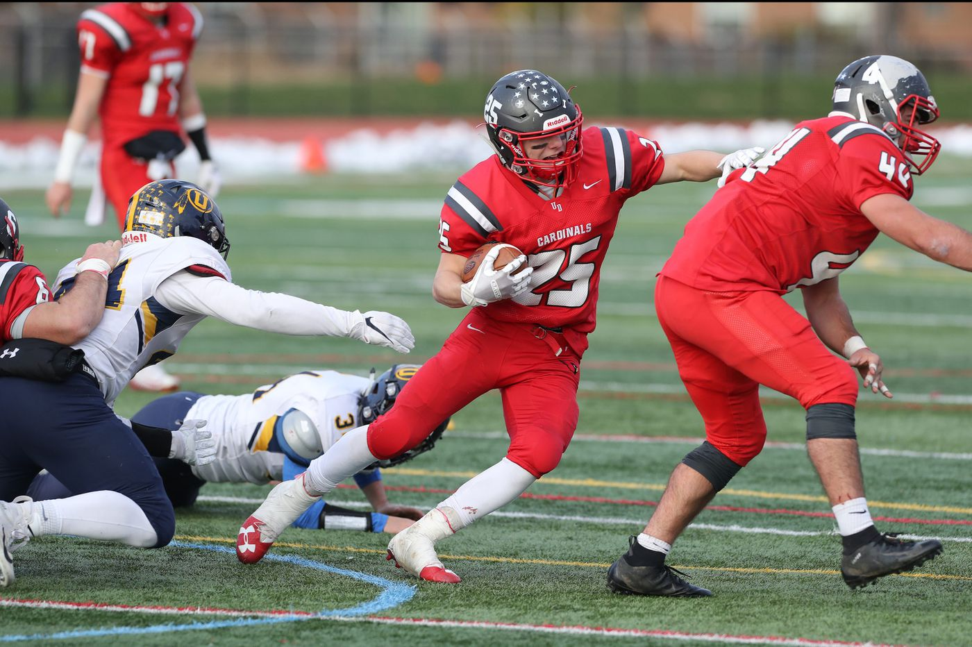 Lucas Roselli, Upper Dublin trounce Unionville in District 1 Class 5A football semifinal