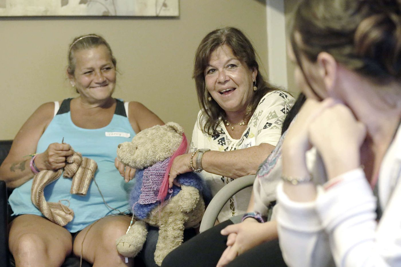 Mothers of addicts and women in recovery (sometimes mothers, too), gather to fill a void